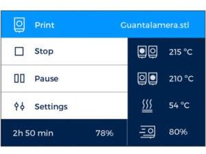 Actualización de la Impresora 3D Sigma
