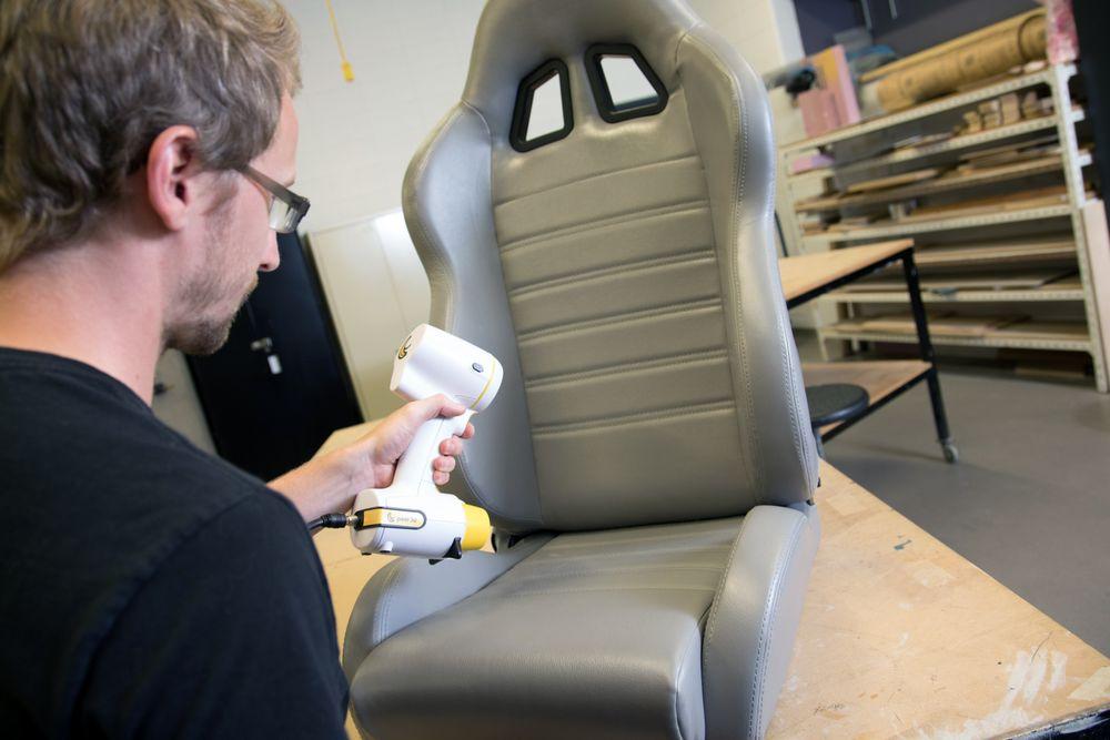 Escaneado asiento Peel 3D